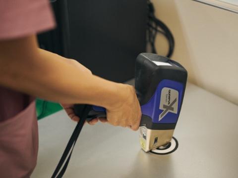 蛍光X線分析計による品質チェック