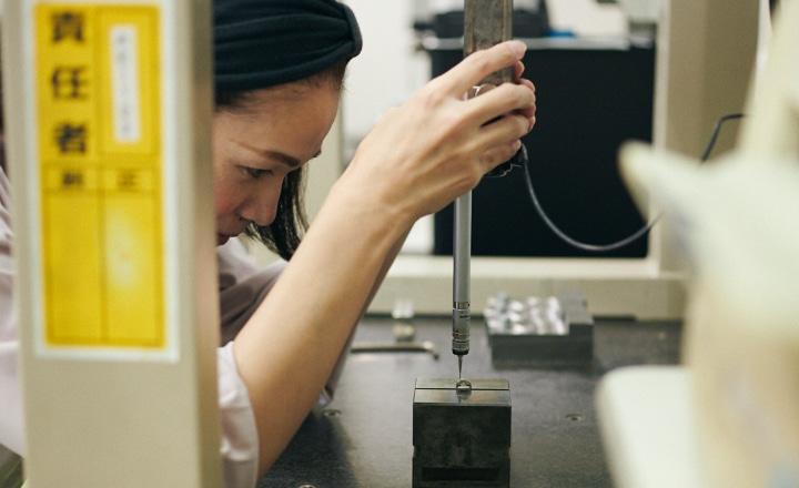 三次元測定器による高精度な精度検査