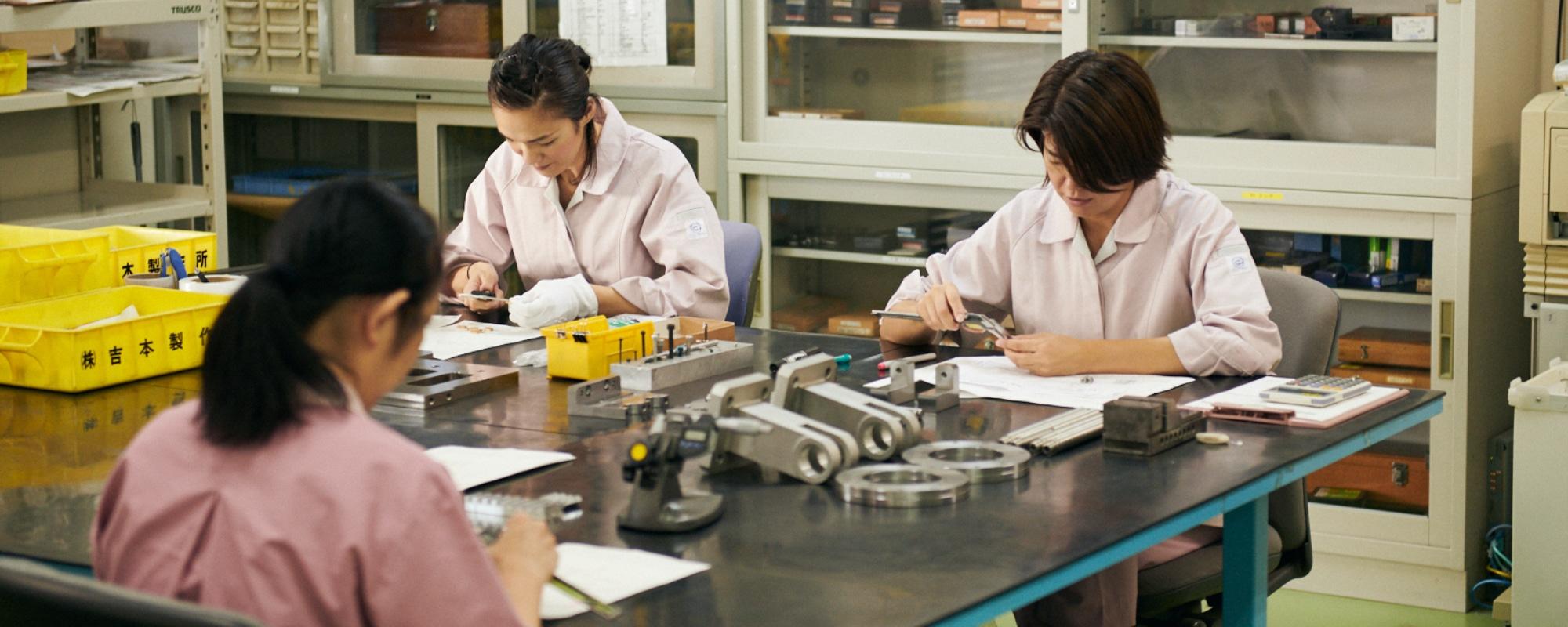 高品質の製品を届ける品質管理